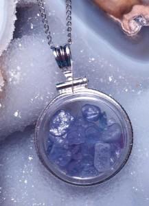 Montana Yogo Sapphire Pendant