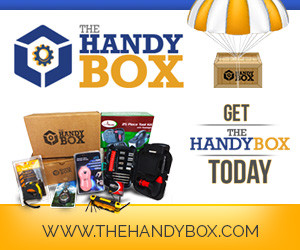 Subscribe to The Handy Box Monthly Subscription Box of tools and gadgets!